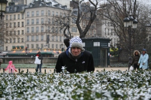 Casey in Paris