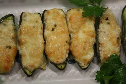 Baked Jalapeno Peppers