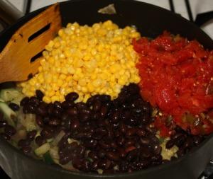 Veggies ready to cook