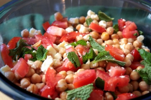 spring bean salad