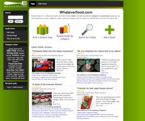 WhateverFood.com