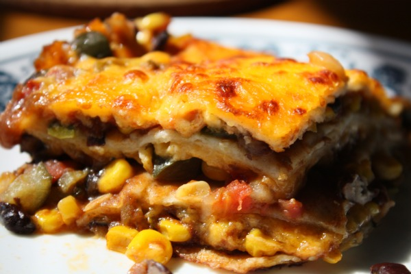 Mexican Lasagna | Photo by HealthyandLazy