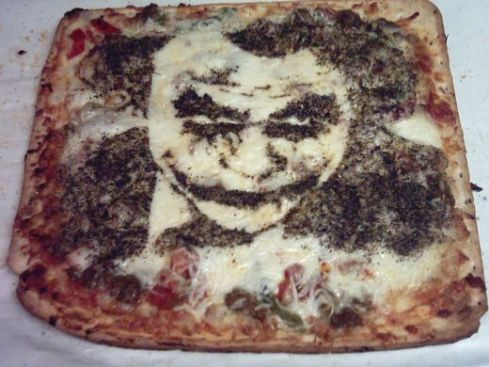 Joker Pizza Art