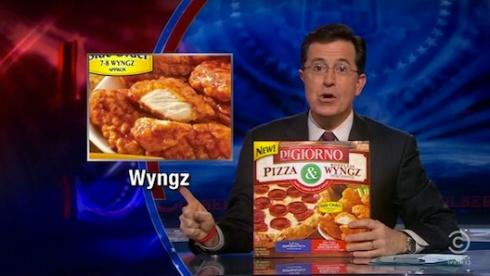 Stephen Colbert Wyngz