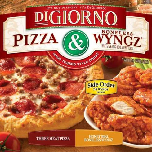 DiGiorno Pizza and Wyngz