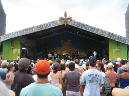 New Orleans Jazz Fest Amos Lee