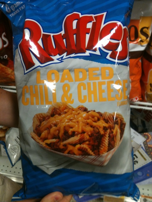 Ruffles chili chips